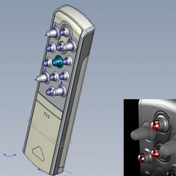 레이저 탈모 치료기 기구설계 :: 2008